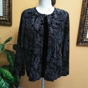 Notations 2 in 1 Jacket Cami Top